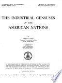 The Industrial Censuses of the American Nations Book