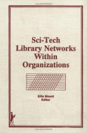Sci-Tech Library Networks Within Organizations