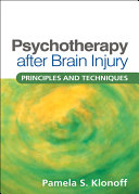 Psychotherapy after Brain Injury