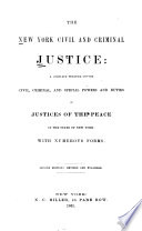 The New York Civil and Criminal Justice