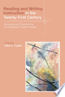 Reading And Writing Instruction In The Twenty First Century