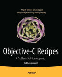Objective-C Recipes [Pdf/ePub] eBook