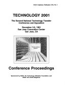 Technology 2001  The Second National Technology Transfer Conference and Exposition  Volume 2 Book