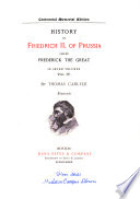 Carlyle s Works  Frederick the Great