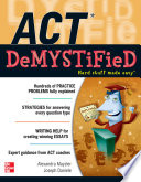 ACT DeMYSTiFieD Book