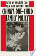 China's One-Child Family Policy