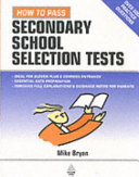 How to Pass Secondary School Selection Tests