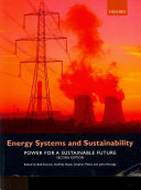 Energy Systems And Sustainability Book PDF