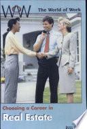 Choosing a Career in Real Estate