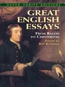 Great English Essays