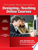 Designing and Teaching Online Courses