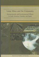 Large Mines and the Community