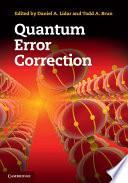 Quantum Error Correction Book PDF