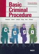 Basic Criminal Procedure