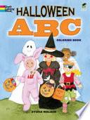 Halloween ABC Coloring Book