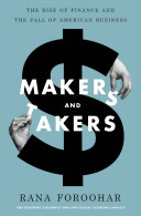 Makers and Takers Book