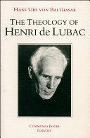Pdf The Theology of Henri De Lubac Telecharger