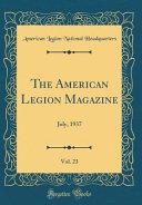 The American Legion Magazine Vol 23 PDF