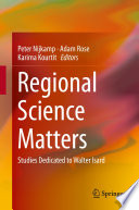 Regional Science Matters Book