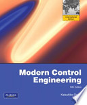 Modern Control Engineering Plus MATLAB and Simulink Student Version 2010