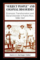 Subject People and Colonial Discourses
