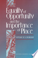 Equality of Opportunity and the Importance of Place Book