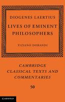 Diogenes Laertius: Lives of Eminent Philosophers
