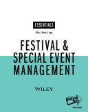 Festival and Special Event Management Interactive Wiley E Text