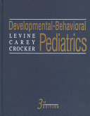 Developmental behavioral Pediatrics