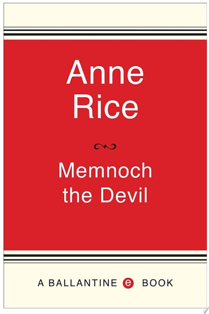 Memnoch the Devil image