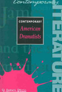 Contemporary American Dramatists