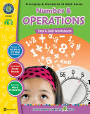 Number & Operations - Task & Drill Sheets Gr. PK-2
