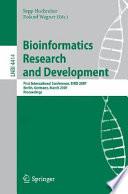 Bioinformatics Research And Development Book PDF