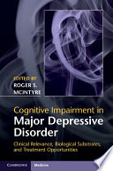 Cognitive Impairment in Major Depressive Disorder