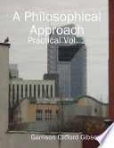 A Philosophical Approach - Practical