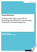 Normgerechtes Falten einer DIN-A1 Zeichnung nach DIN 824-A (Unterweisung Technische/r Produktdesigner/in)
