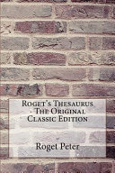 Roget s Thesaurus