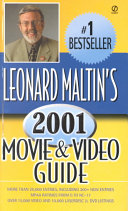 Leonard Maltin s Movie   Video Guide 2001