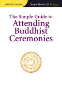 Simple Guide to Attending Buddhist Ceremonies