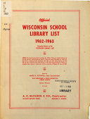 Official Wisconsin School Library List