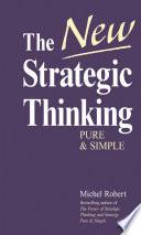 The New Strategic Thinking Book