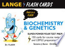 Lange Biochemistry and Genetics Flash Cards