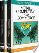 """Encyclopedia of Mobile Computing and Commerce"" by Taniar, David"