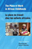 Pdf The Place of Work in African Childhoods Telecharger