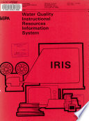 Water Quality Instructional Resources Information System  IRIS  Book