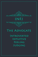 Infj The Advocate Introverted Intuitive Feeling Judging  Book