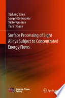 Surface Processing of Light Alloys Subject to Concentrated Energy Flows