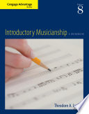 Cengage Advantage Books  Introductory Musicianship Book PDF