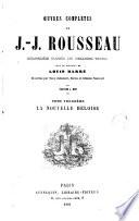 Oeuvres Completes de J.J. Rousseau, 3