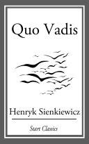 Quo Vadis [Pdf/ePub] eBook